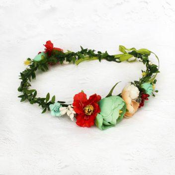 Wianek kwiatowy nr.02