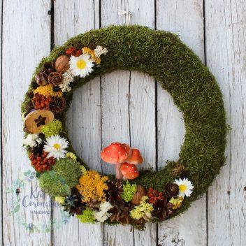 Wianek jesienny na drzwi nr. 12
