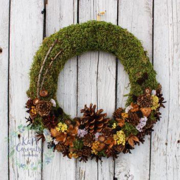 Wianek jesienny na drzwi nr. 13