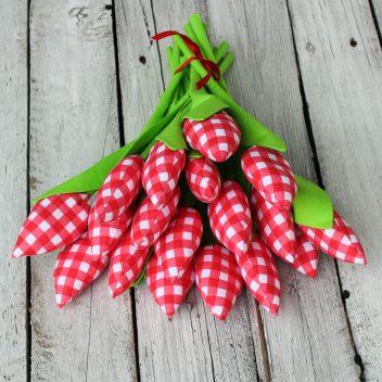Tulipany z materiału nr. 03