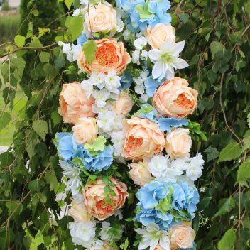 Girlanda kwiatowa