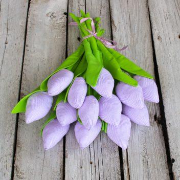 Tulipany z materiału nr. 06