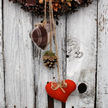Wianek jesienny na drzwi nr. 51