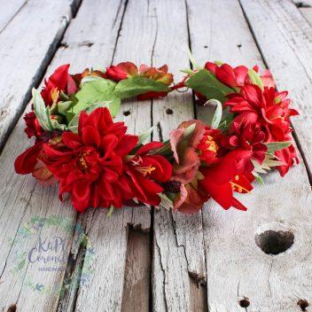 Wianek kwiatowy nr. 307