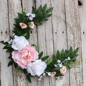 Obręcz kwiatowa