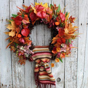 Wianek jesienny na drzwi nr. 54