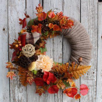 Wianek jesienny na drzwi nr. 53
